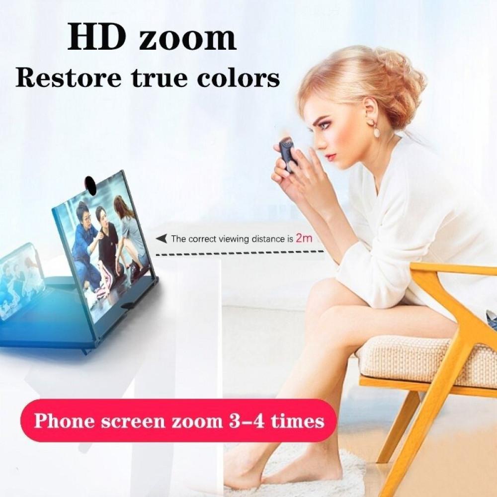 مكبر ثلاثي الأبعاد لشاشة الهاتف