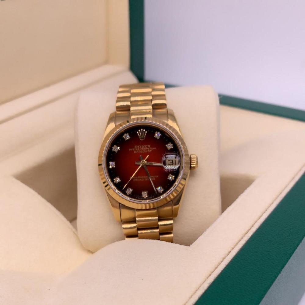 ساعة رولكس ديت جست بريزيدنت الأصلية