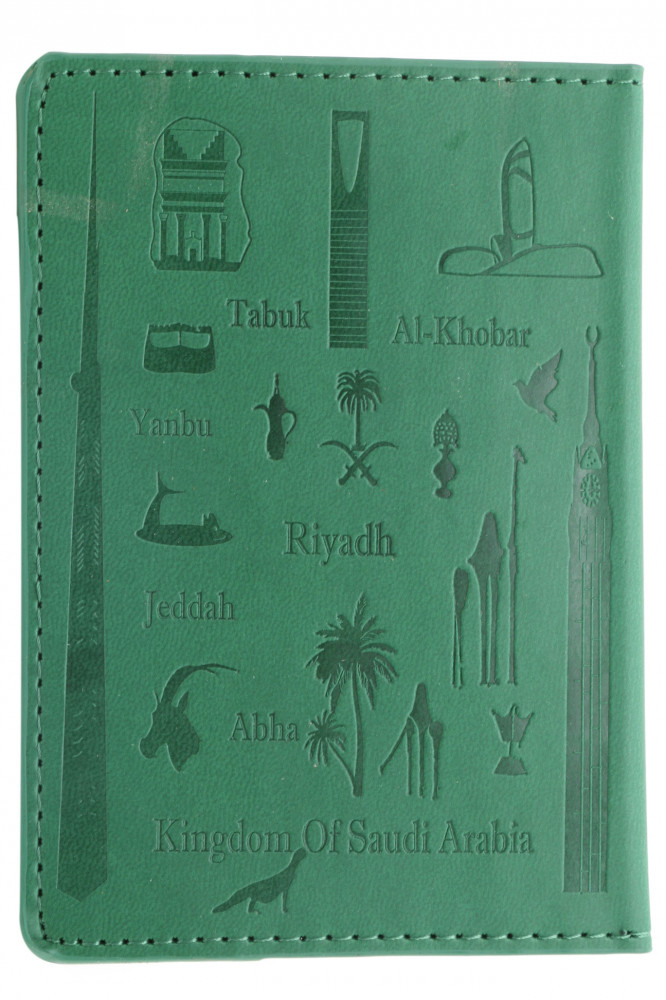 Saudi Passport Cover