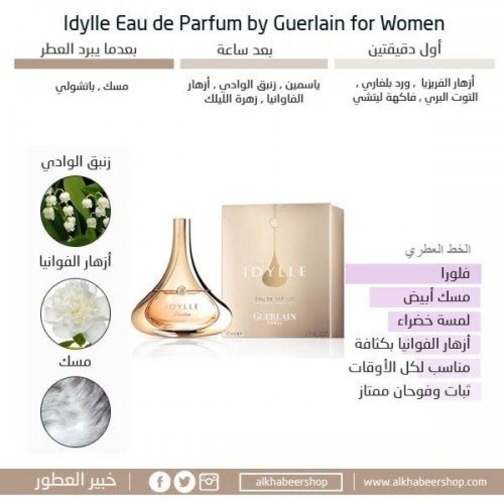 Guerlain Idylle for Women Eau de Parfum 50ml خبير العطور