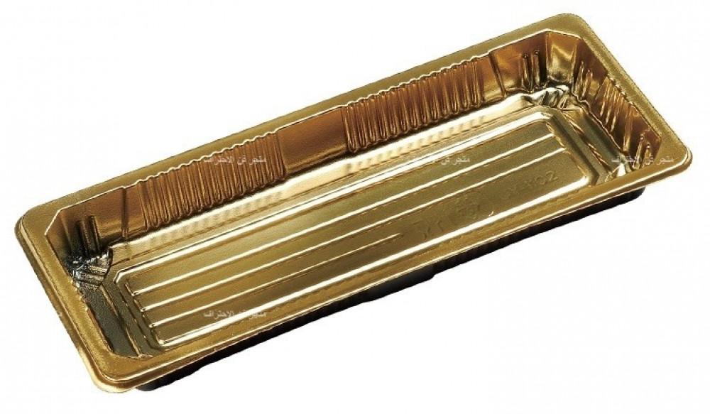 صحن سوشي ذهبي مقاس 21 50 حبة