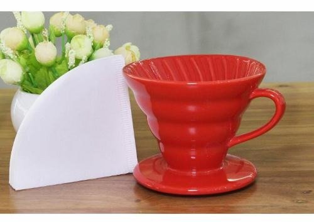 V60 بورسلان سعة 1-2 كوب متجر كوفي كلاود محامص ادوات تحضير القهوة