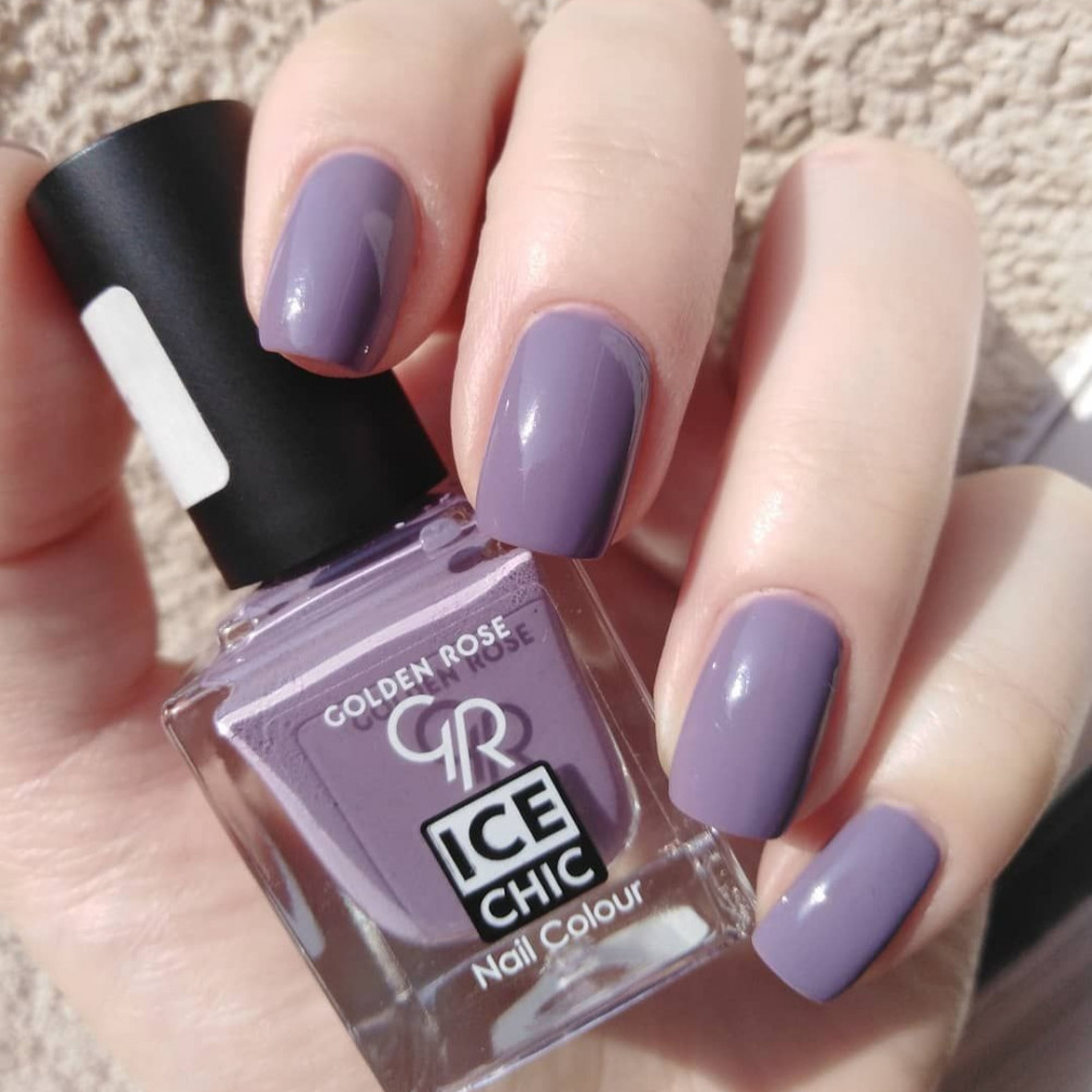 GOLDEN ROSE Ice Chic Nail Colour مناكير قولدن روز 57