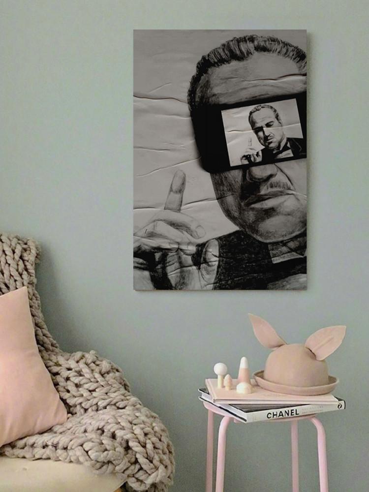 لوحة العراب خشب ام دي اف مقاس 40x60 سنتيمتر