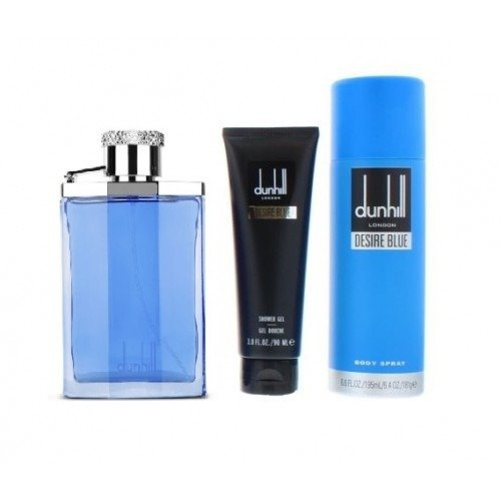 Dunhill Desire  Blue Eau de Toilette 100ml 3 Gift Set خبير العطور