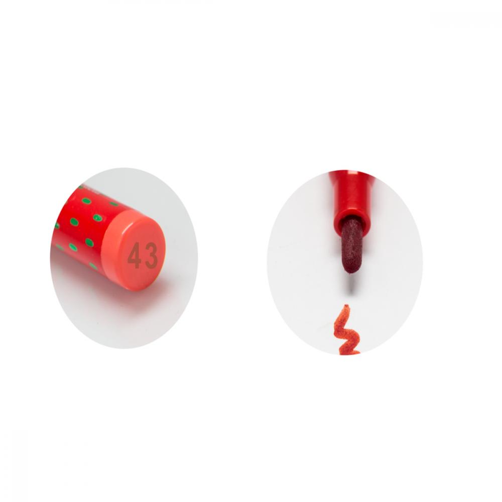 Strawberry Lipstick Pen No-43