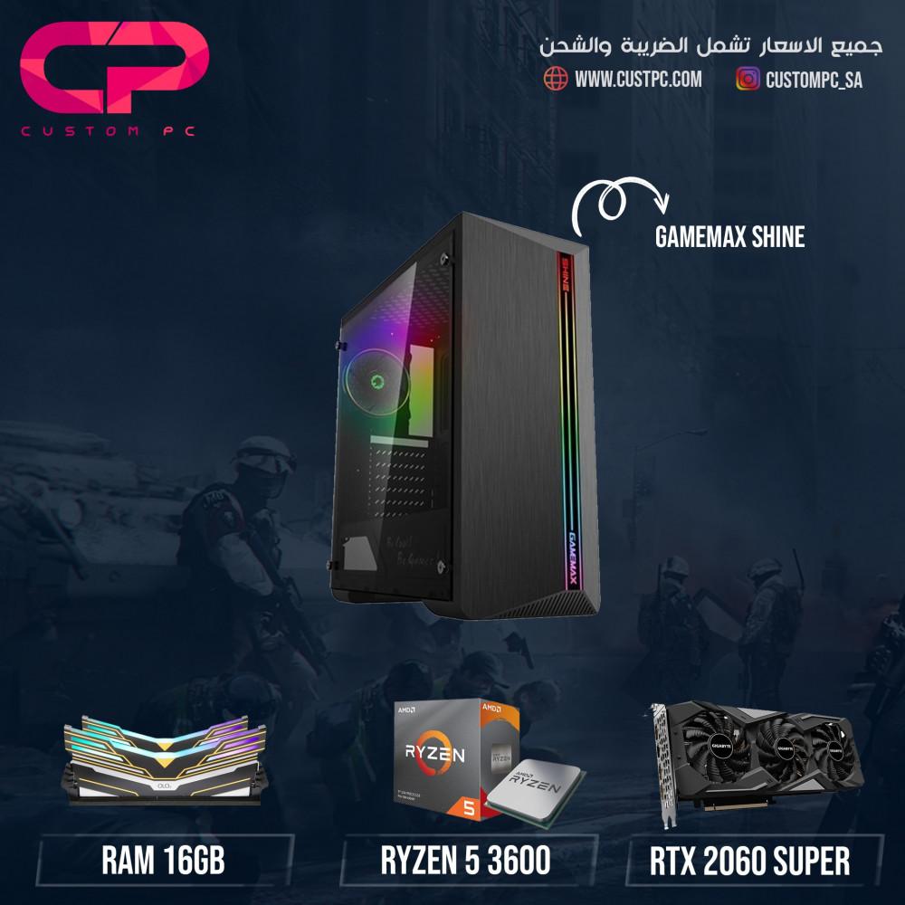 Ryzen 3600 RTX 2060 SUPERتجميعة كمبيوتر PC GAMING