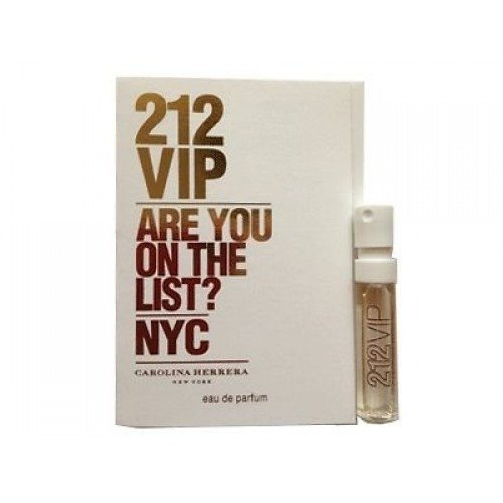Carolina Herrera 212 VIP Eau de Parfum Sample 1-5ml متجر خبير العطور