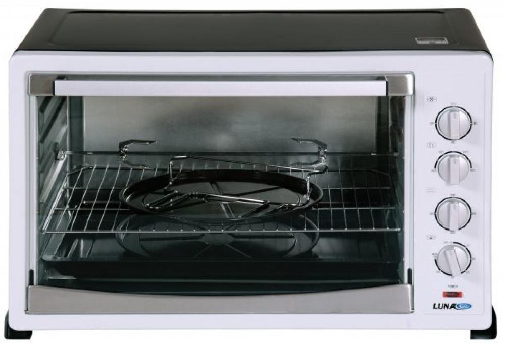 فرن كهربائي لطهي الطعام من لونا 120 لتر  اسود   LEO-120