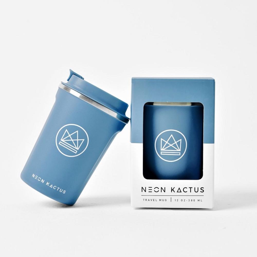 أفضل كوب حافظ للحرارة والبرودة أفضل أكواب neon kactus مانع تسريب أزرق