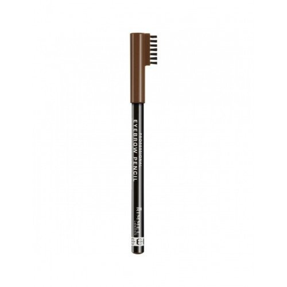 Rimmel Eyebrow Pencil No 001 Dark Brown 1-4g متجر خبير العطور