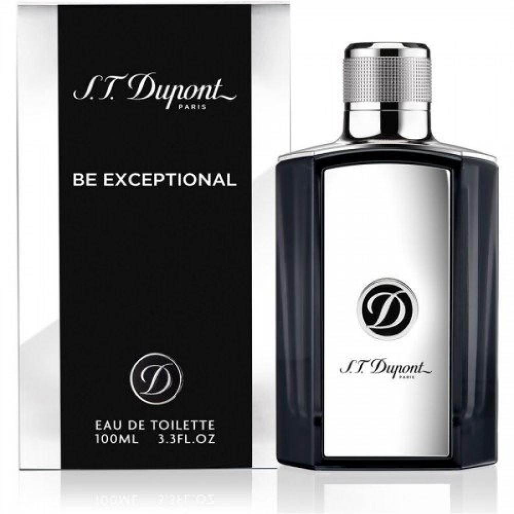 S T  Dupont Be Exceptional Eau de Toilette  Sample 1-2ml خبير العطور