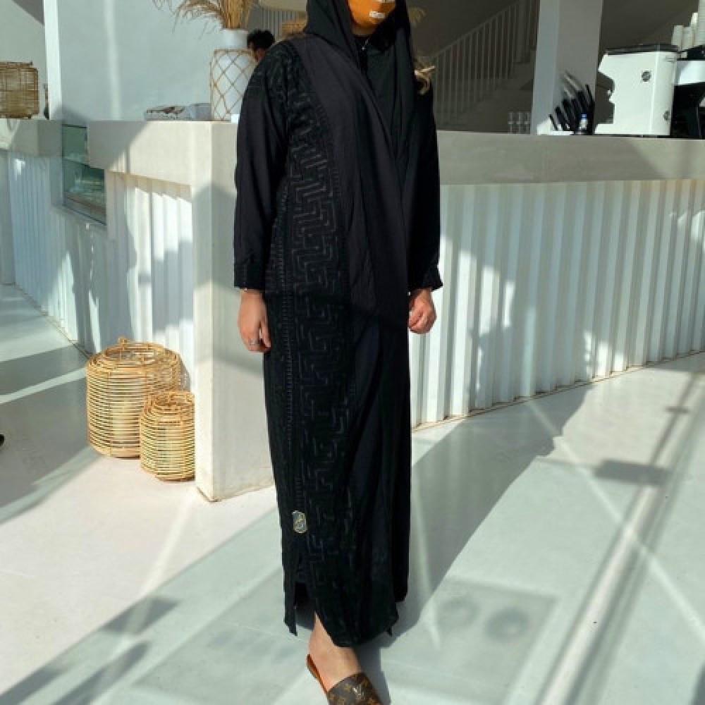 عبايات ستان سوداء - متجر ميم عباية