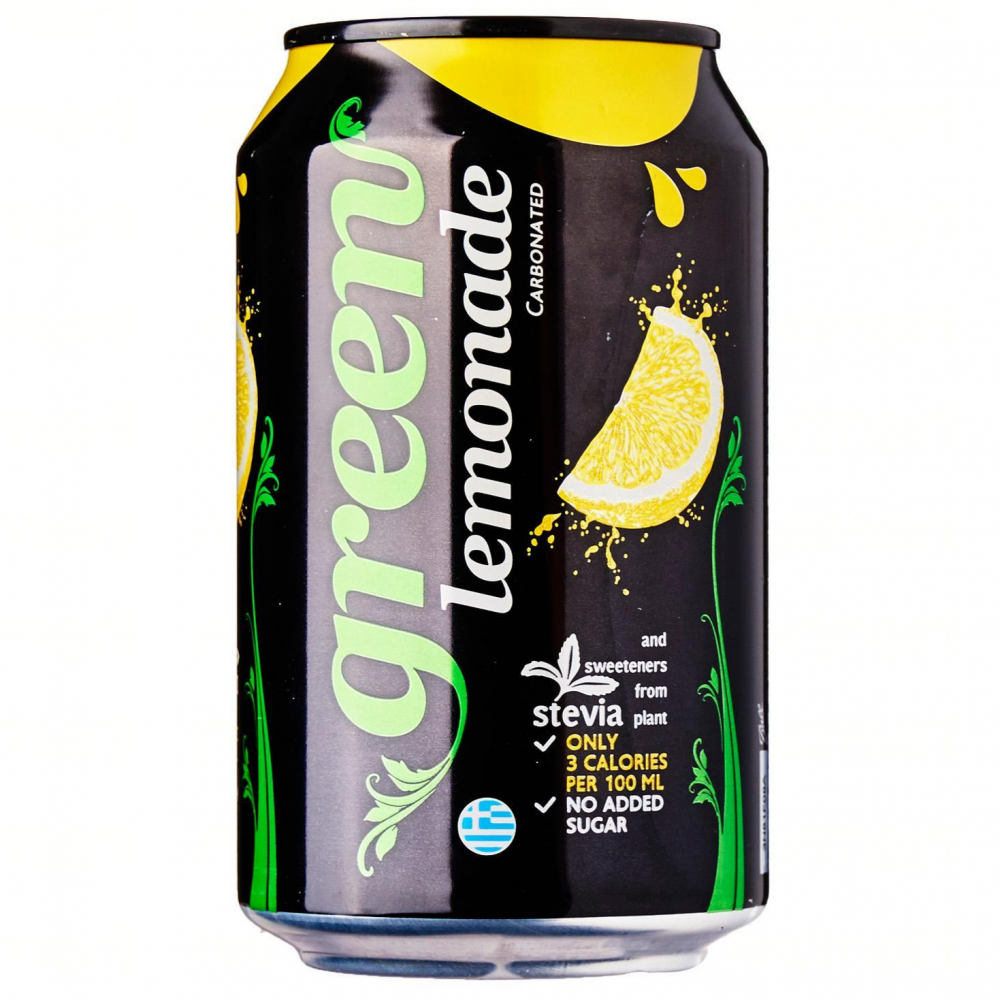 جرين كولا مشروب غازي نكهة الليمون Green Cola Lemon Ideal Nutrition