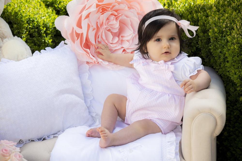 رومبير باللون الزهري من ماركة  Patachou من دوها