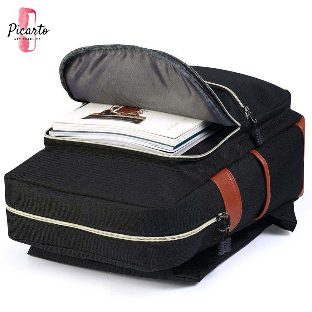 حقيبة ظهر عصرية ـ أسود - بيكارتو