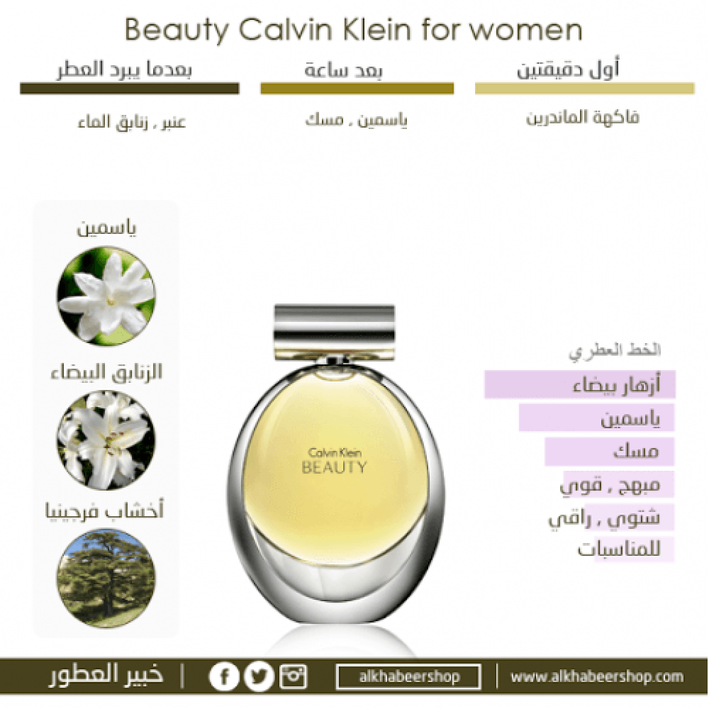 Calvin Klein Beauty Eau de Parfum 100ml خبير العطور