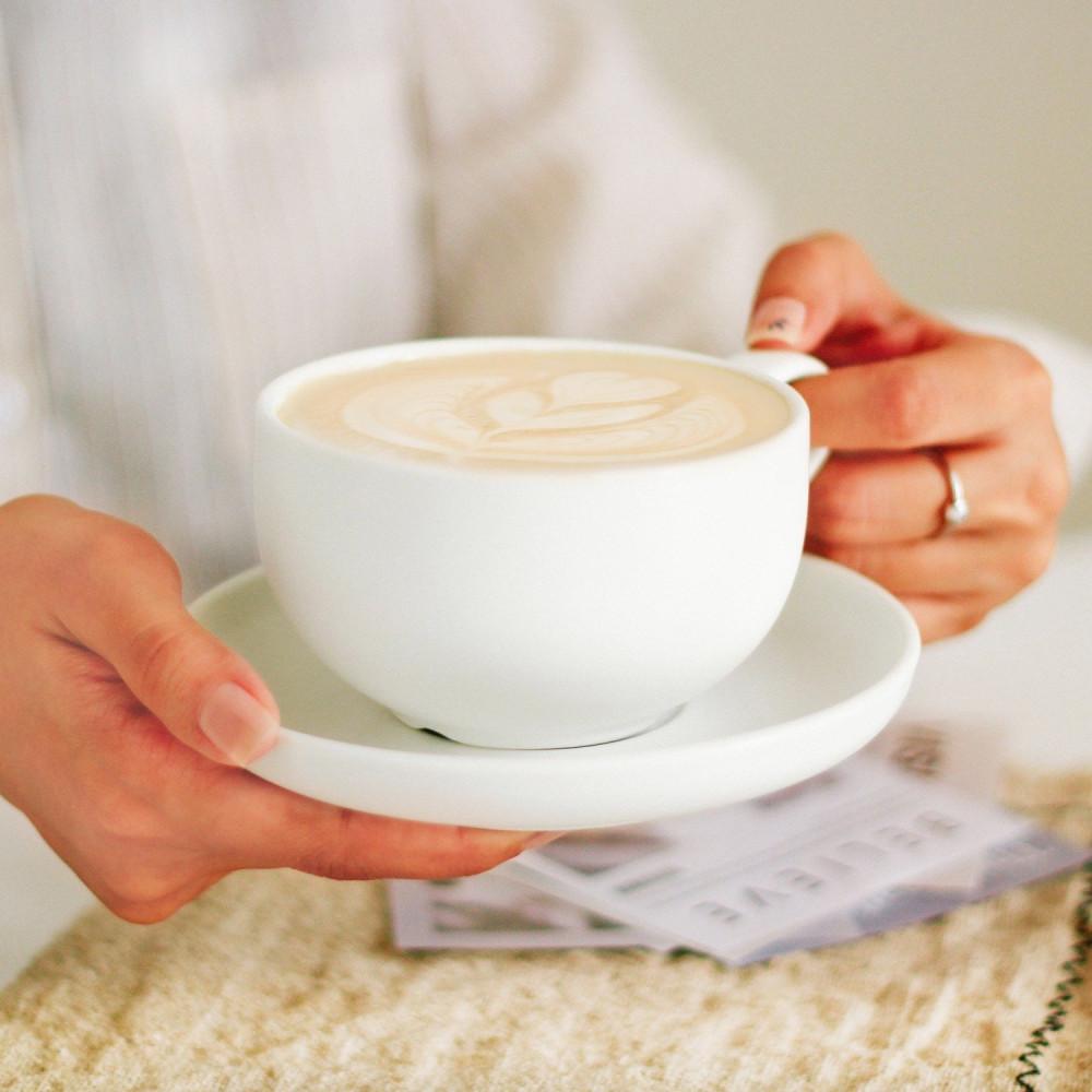 أكواب كوب لاتيه كوب مع صحن كابتشينو أدوات القهوة المختصة ركن القهوة