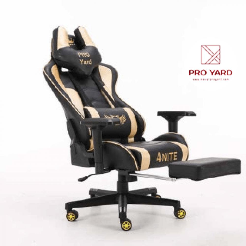 كرسي قيم لون ذهبي - متجر ProYard