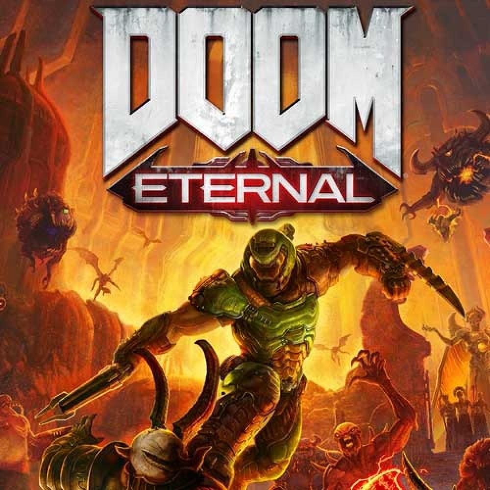 لعبة Doom Eternal للكمبيوتر PC مفتاح أصلي