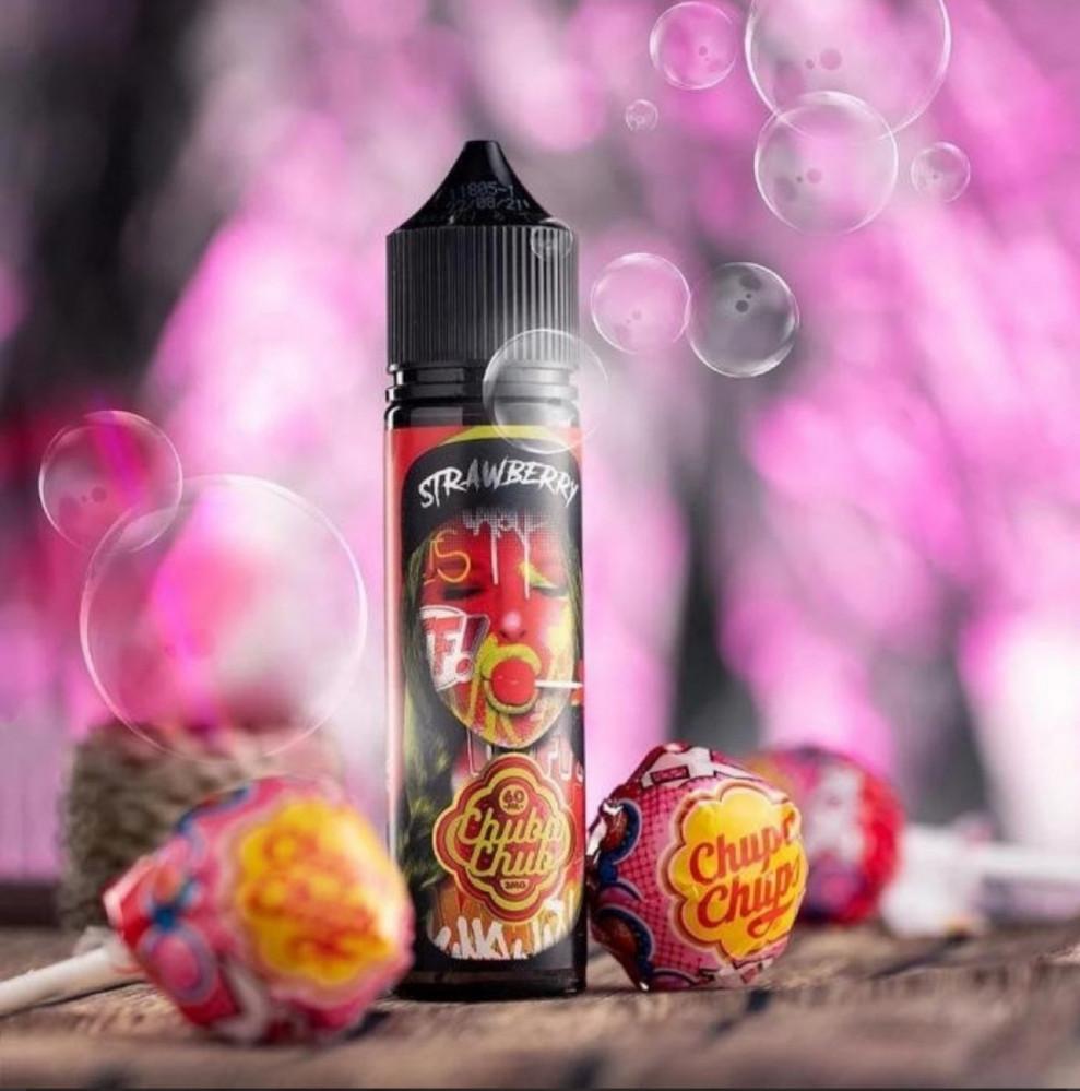 نكهة حلوى الفراولة Chupa Chup STRAWBERRY