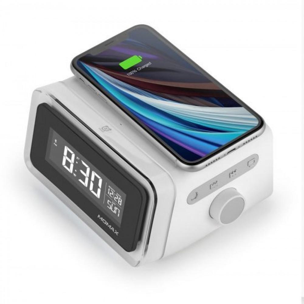 Q Clock 2 Digital Clock with Wireless Charg