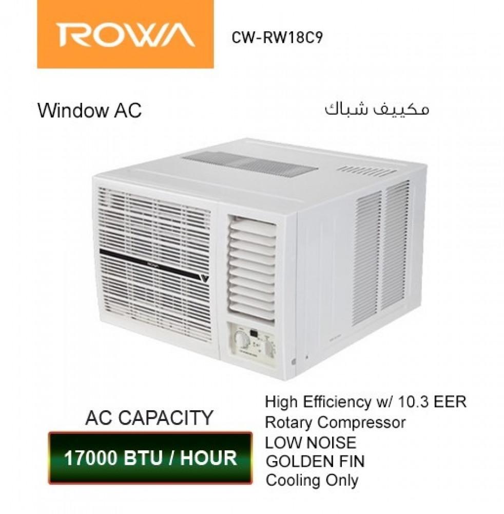 مكيف روا شباك 17000 وحده Rowa Window AC CW-RW18C9