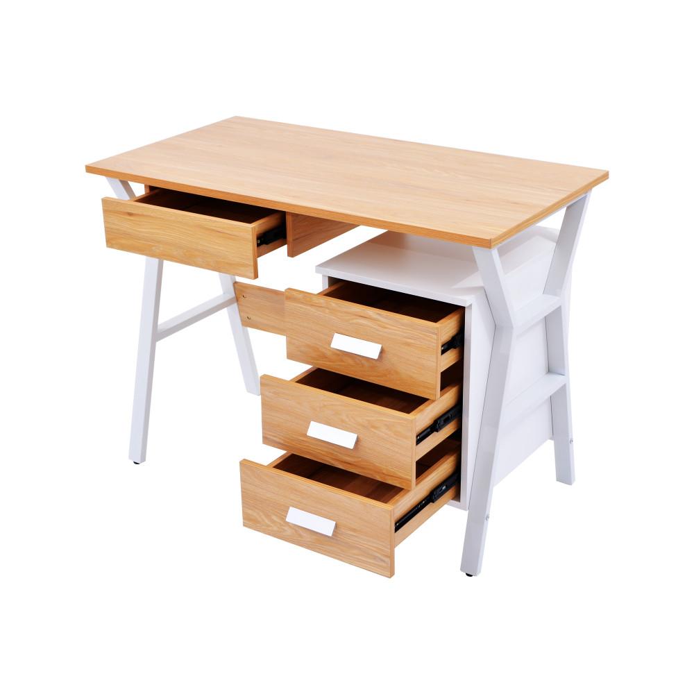 مكتب كاما 100 سم خشبي 9614-100-B