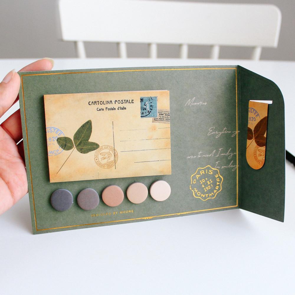 ورق ملاحظات االمذكرات والملاحظات بطاقات هدايا بطاقة رسائل قرطاسية