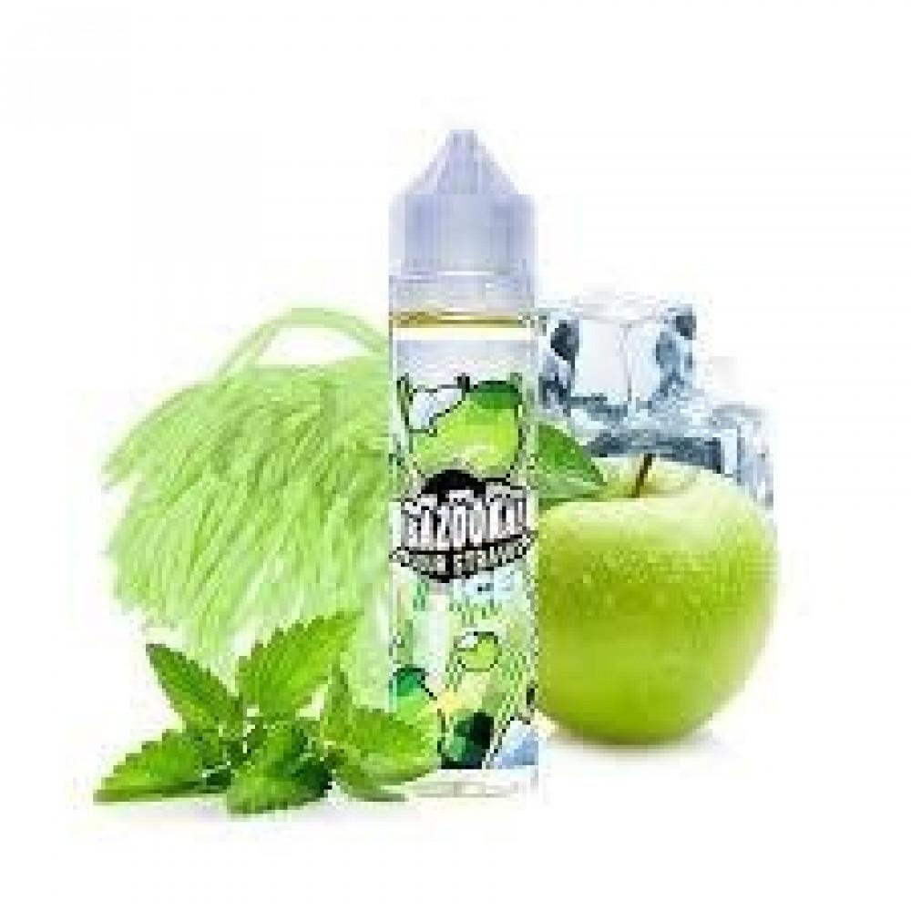 حلوى التفاح الأخضر المثلجه  bazooka green apple ice