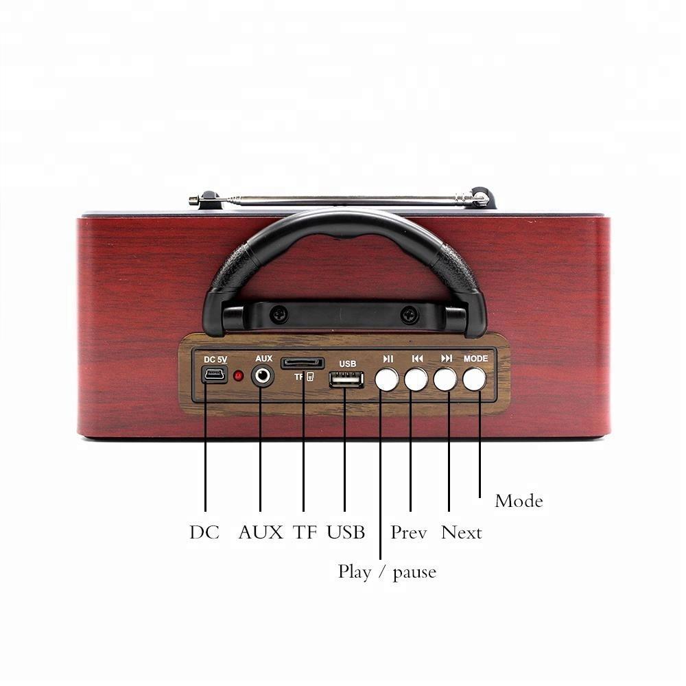 راديو بتصميم تراثي ماير M-115BT مع مشغل صوتيات قنوات  AM FM SW