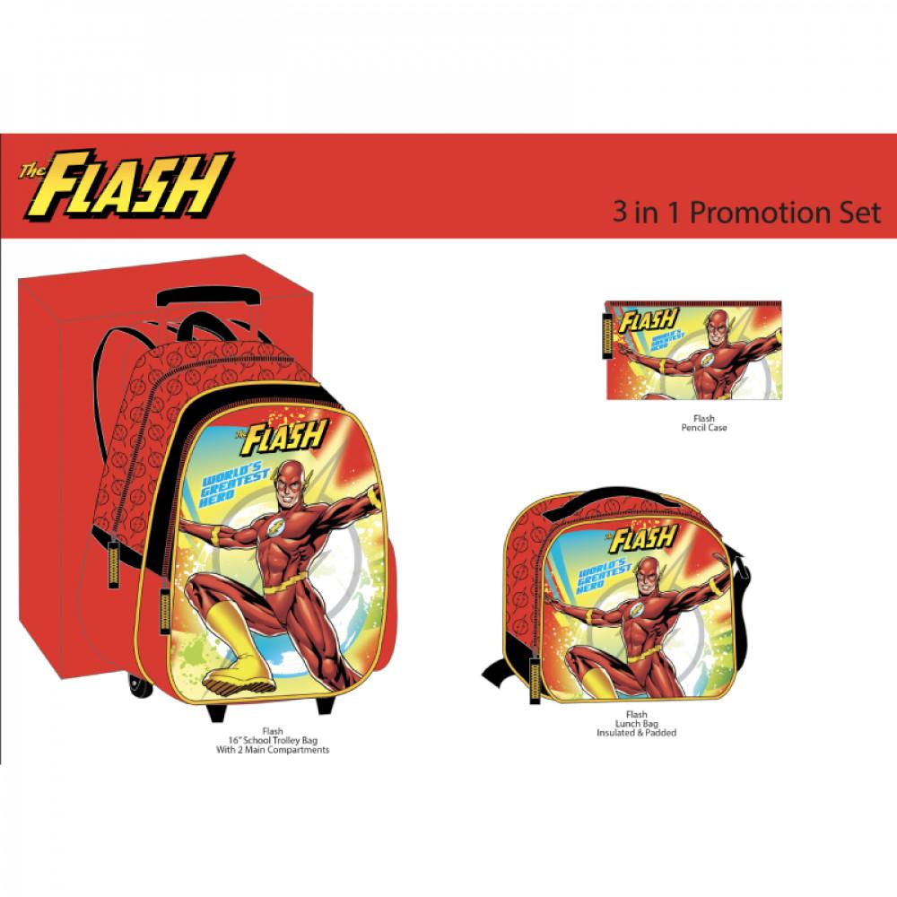 طقم شنطة ترولي ذي فلاش, The Flash, Bag
