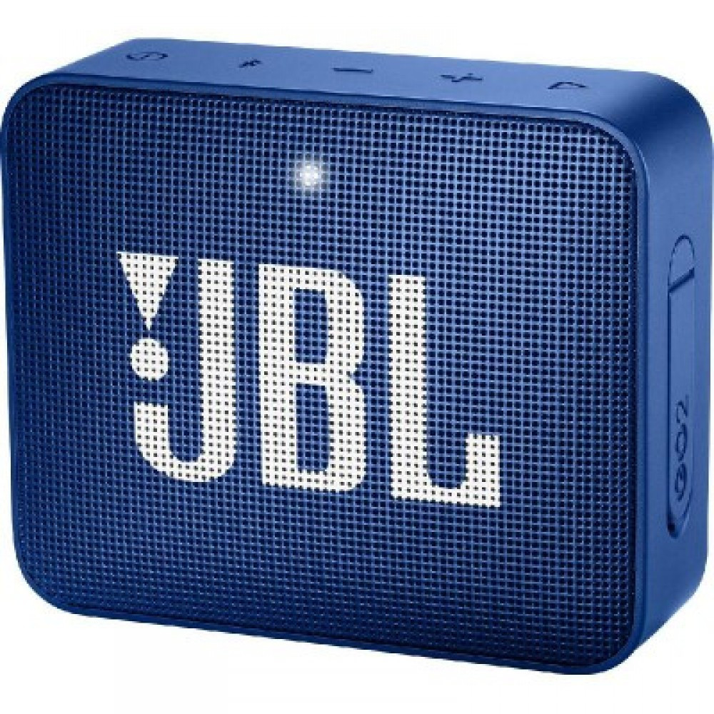 JBL GO 2 Portable Wireless Bluetooth Speaker Blue-