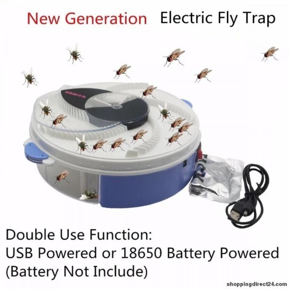 مصيدة الذباب البعوض النمل العثة والحشرات الأخرى تعمل على بطارية