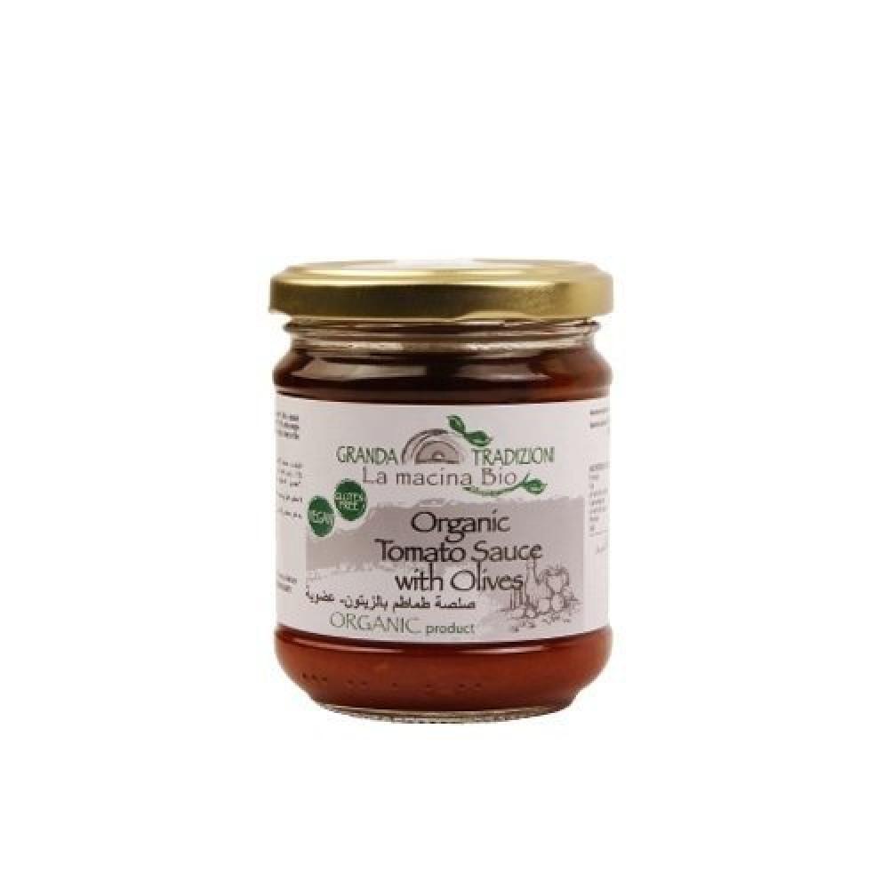 صلصة طماطم بالزيتون عضوي