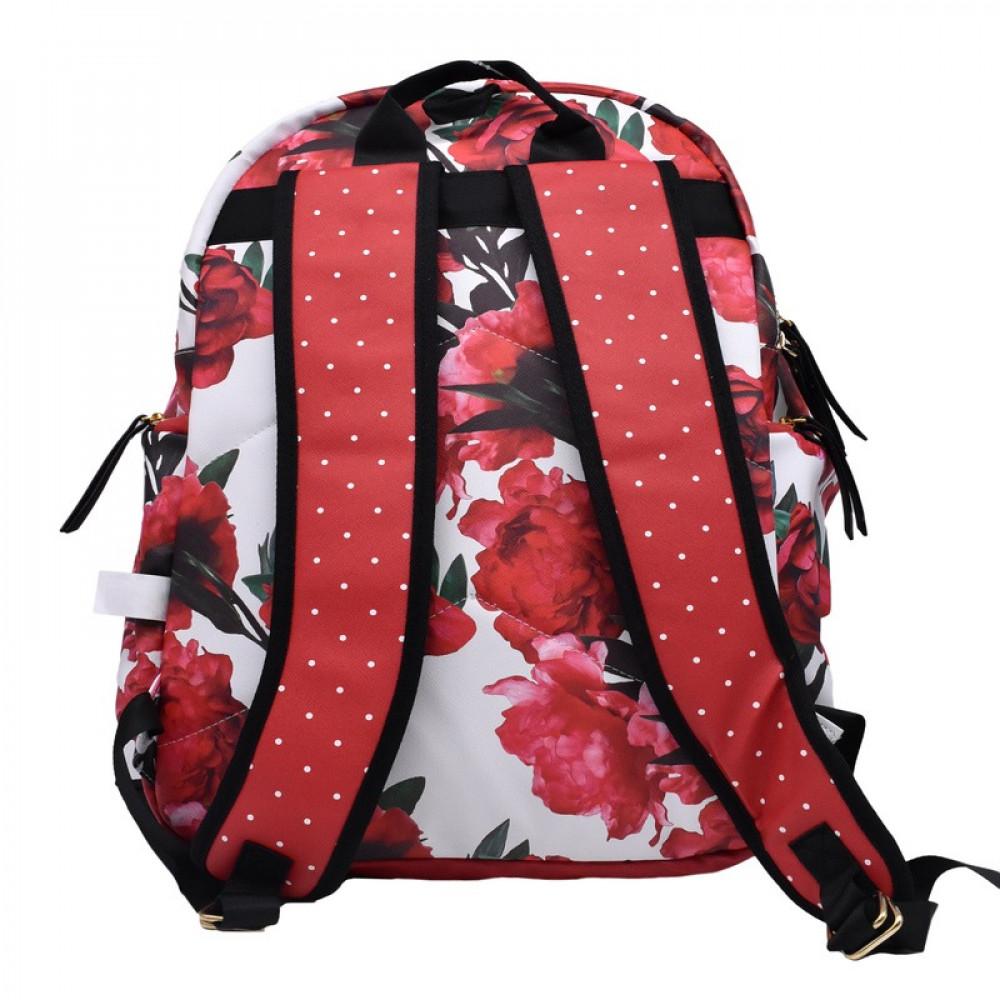 شنطة ظهر جلد أحمر بوز, Pause, Backpack