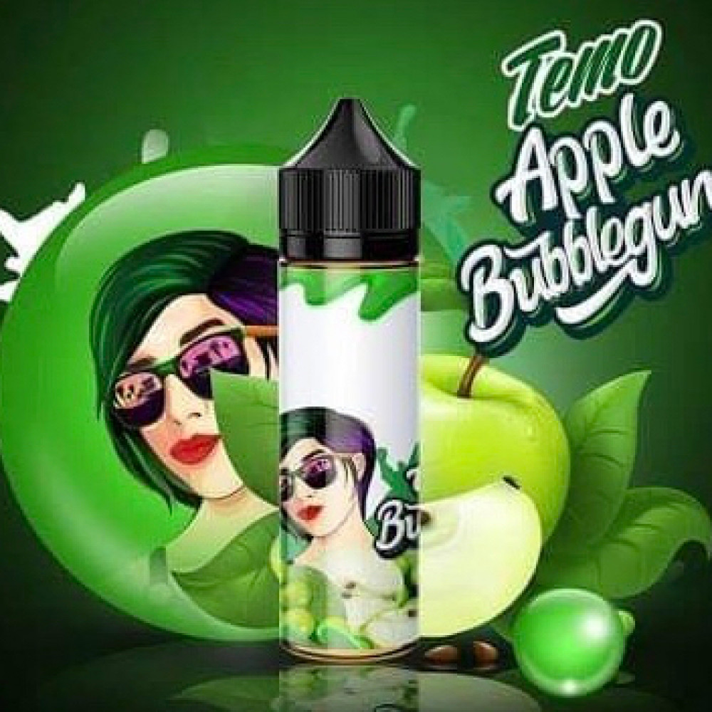 نكهة تيمو تفاح بابل جم - Temo Apple Bubbegum - 60ML