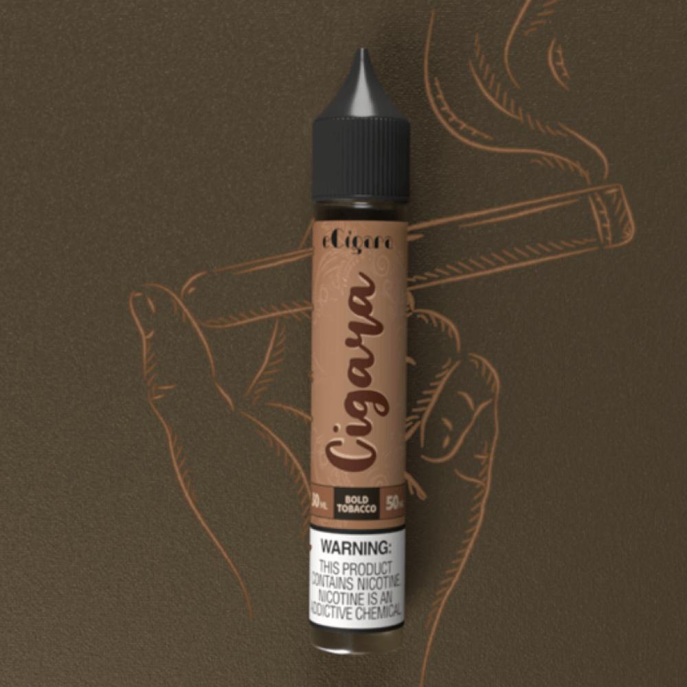 نكهة سيجارا بولد توباكو سولت نيكوتين - ECIGARA Cigara BOLD TOBACCO - S