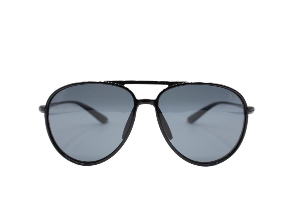 نظارة شمسية تصميم العدسه مربع من ماركة  jK اللون اسود رجالية فاخره2021