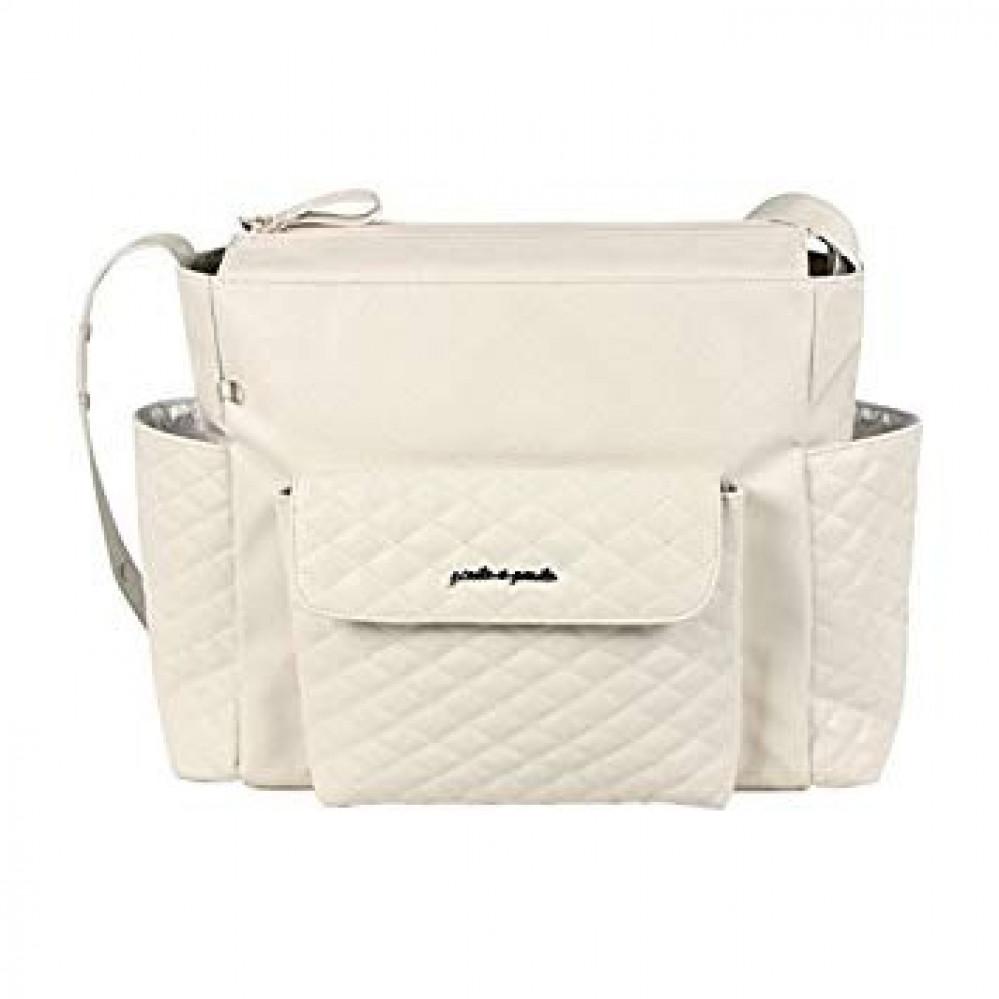 حقيبة يد باللون البيج من ماركة Pasito A Pasito من دوها