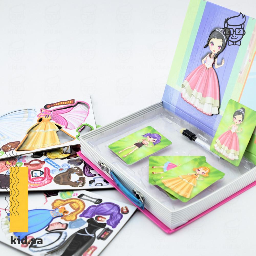 لعبة تلبيس مغناطيس للفتيات