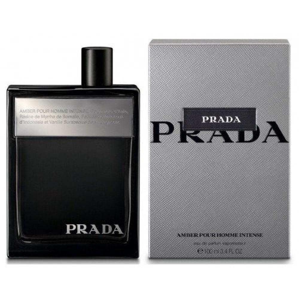 Prada Amber Pour Homme Intense Eau de Parfum 100ml متجر خبير العطور