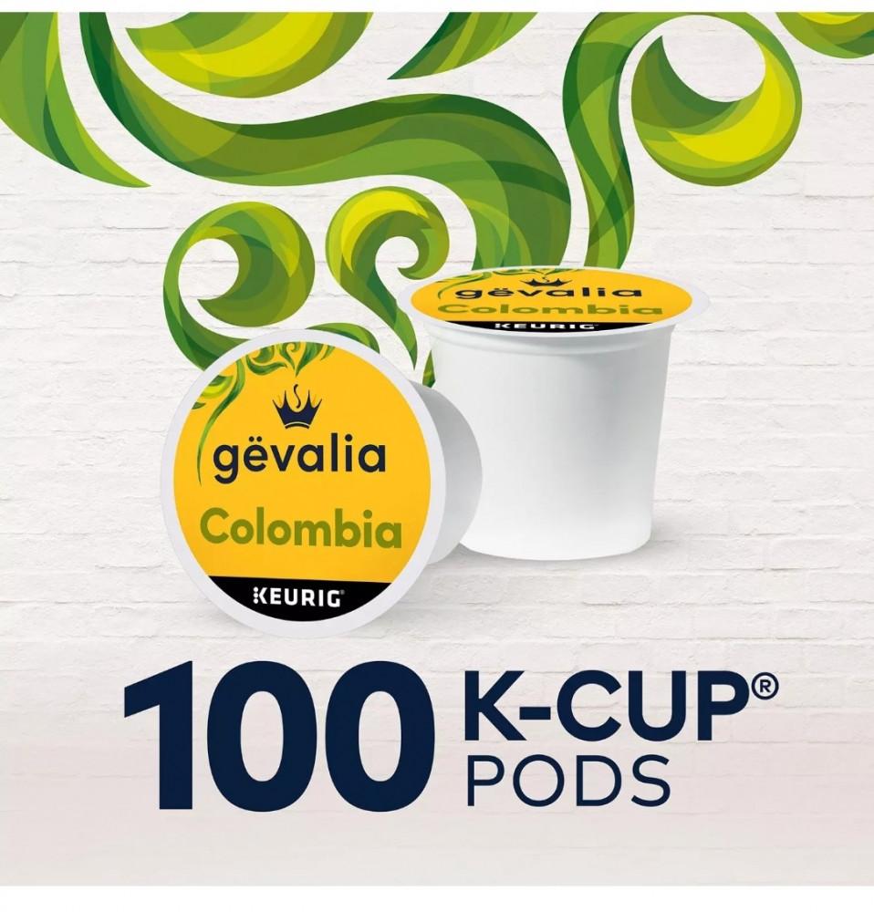 كبسولات قهوة GEVALIA ال K-CUP من شركة KEURIG  KCUP