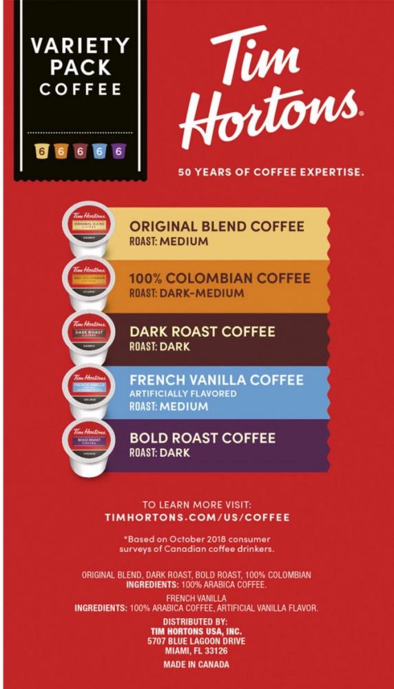 شراء قهوة تيم هورتنز للبيع كبسولات - متجر النافذة الأولى