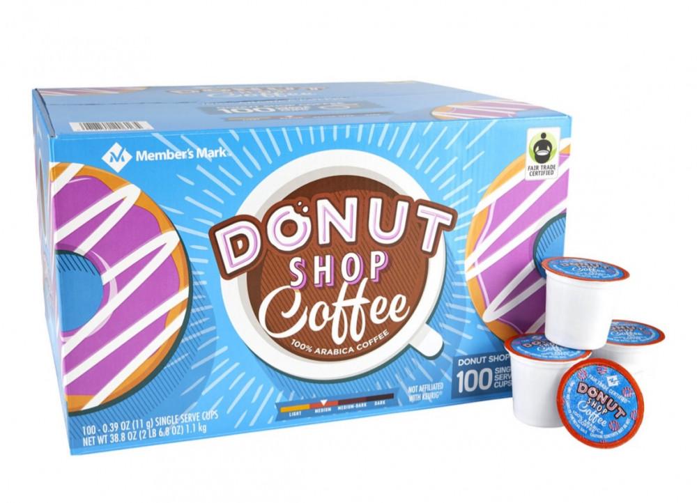 كبسولات ال K-CUP من شركة بنكهة DONUT SHOP KCUP