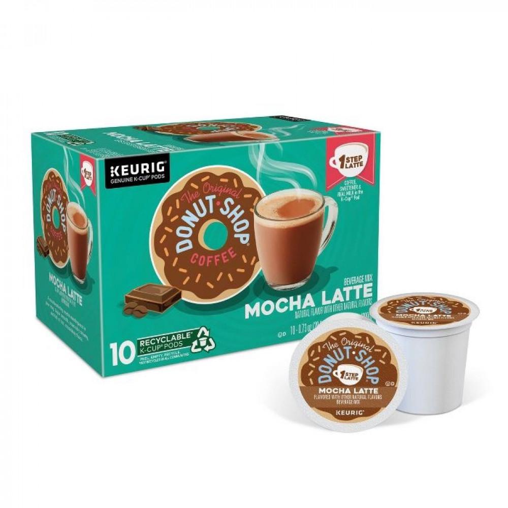 كبسولات قهوة MOCHA LATTE ال K-CUP من شركة KEURIG  KCUP
