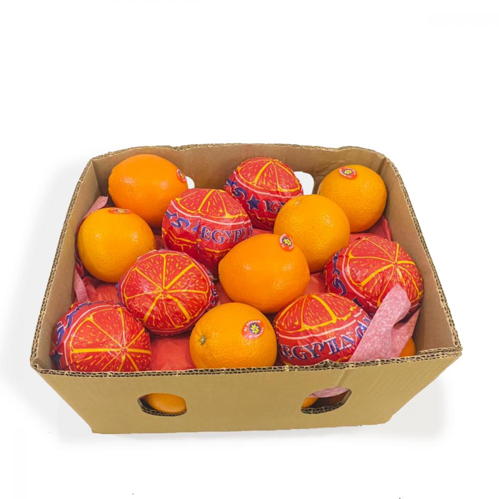 برتقال أكل كرتون Enab