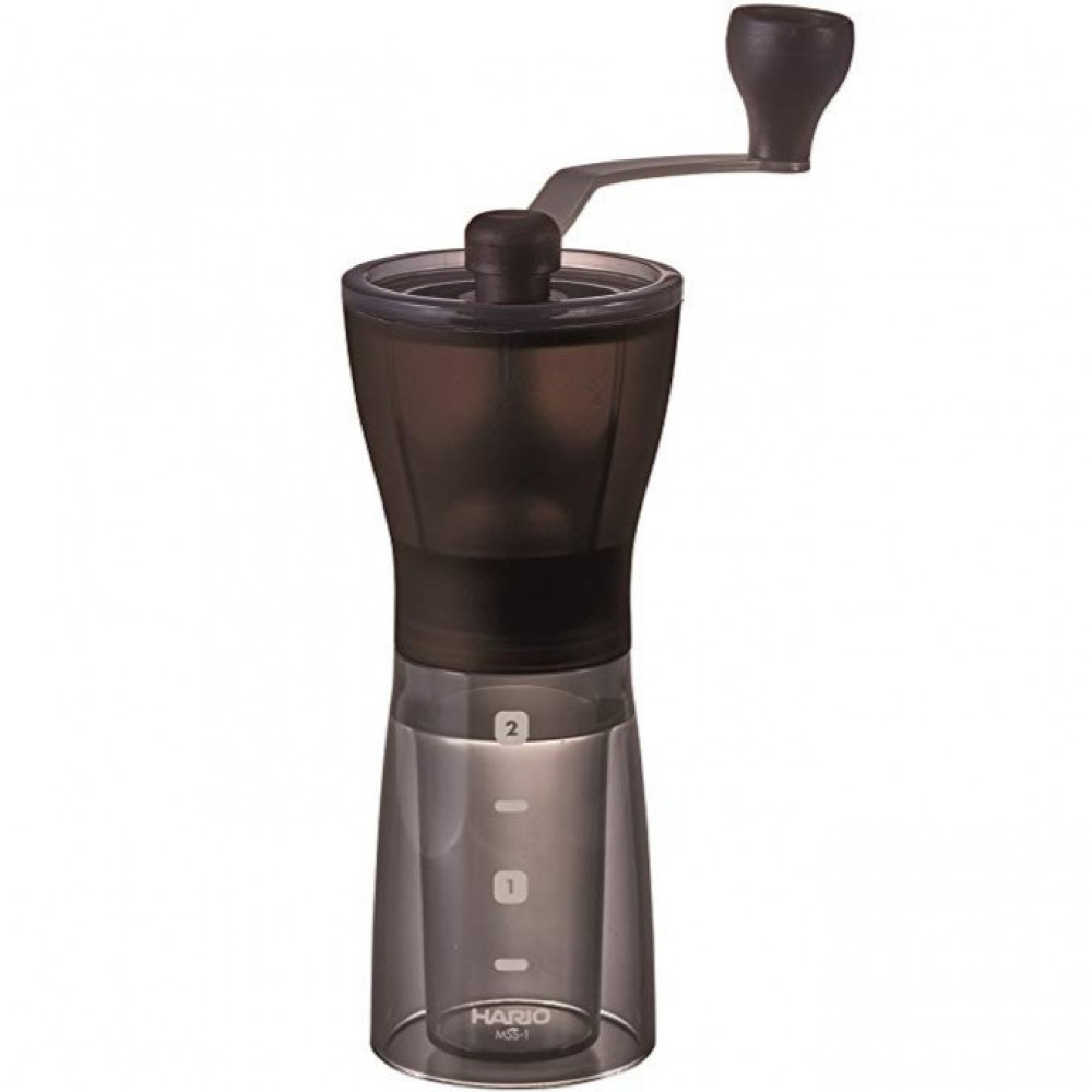طاحونة يدوية لـ القهوة المختصة من شركة هاريو اليابانية ميني ميل بلس