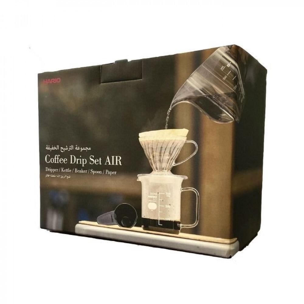 مجموعة الترشيح الخفيفة من هاريو اليابانية لتحضير القهوة المختصة