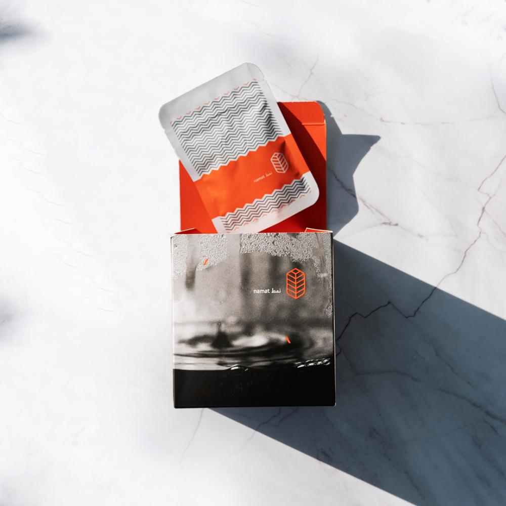 صندوق نمط يحتوي على 8 أكياس قهوة مختصة
